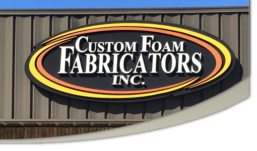 Custom Foam Fabricators Facade Sign