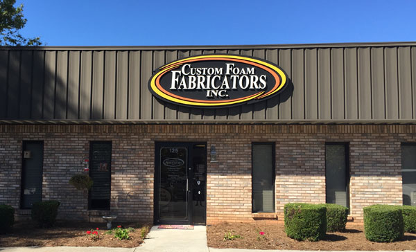 Custom Foam Fabricators Storefront