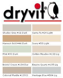 Dryvit Stucco Color Chart
