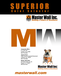 Master Wall Color Chart